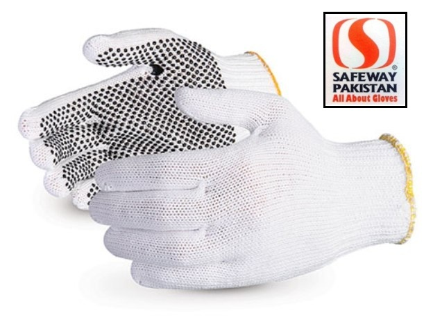 Pvc Dotted Cotton Gloves